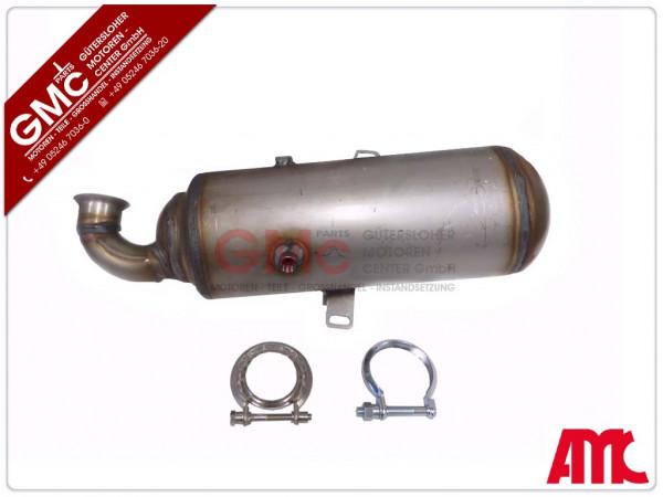 Dieselpartikelfilter DPF für PSA Peugeot 1,6HDi DV6 9HX 9HZ OE-Line + Montagekit
