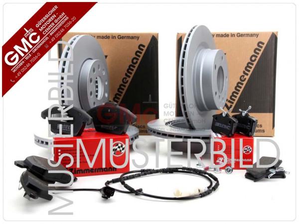 Bremsenkit Bremssatz Bremsanlage Hinterachse für Porsche 911 Targa 928 944 959