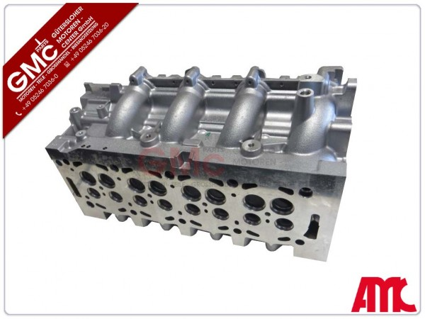 Zylinderkopf Neu für PSA Peugeot Citroen Ford 2,0HDi RHR G6DC G6DA DW10 nackt